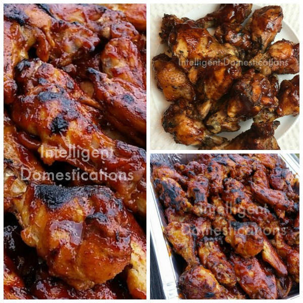 3 Ingredient Crockpot BBQ Chicken Wings